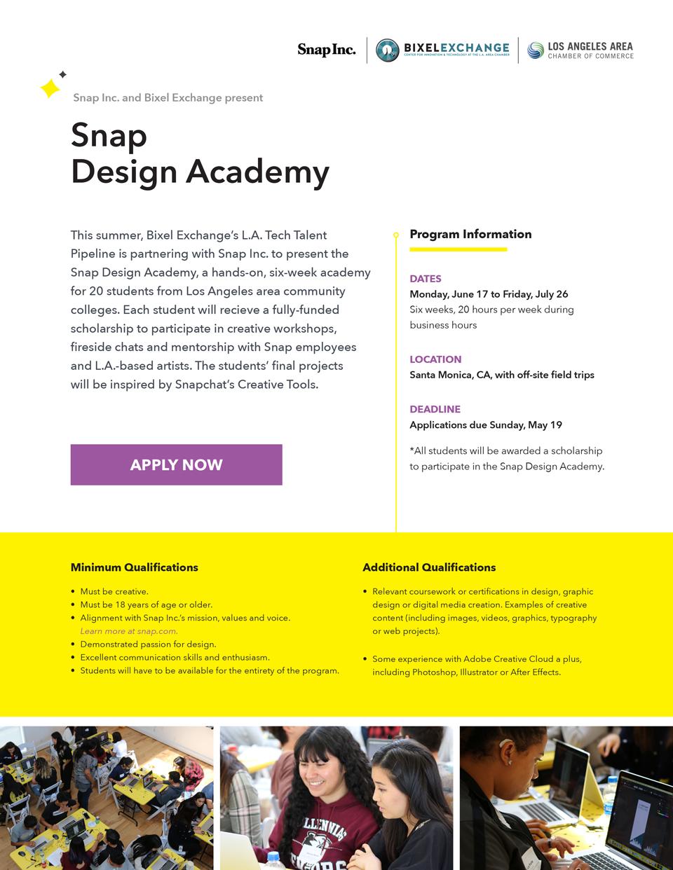 Snap Design Academy - Bixel Exchange