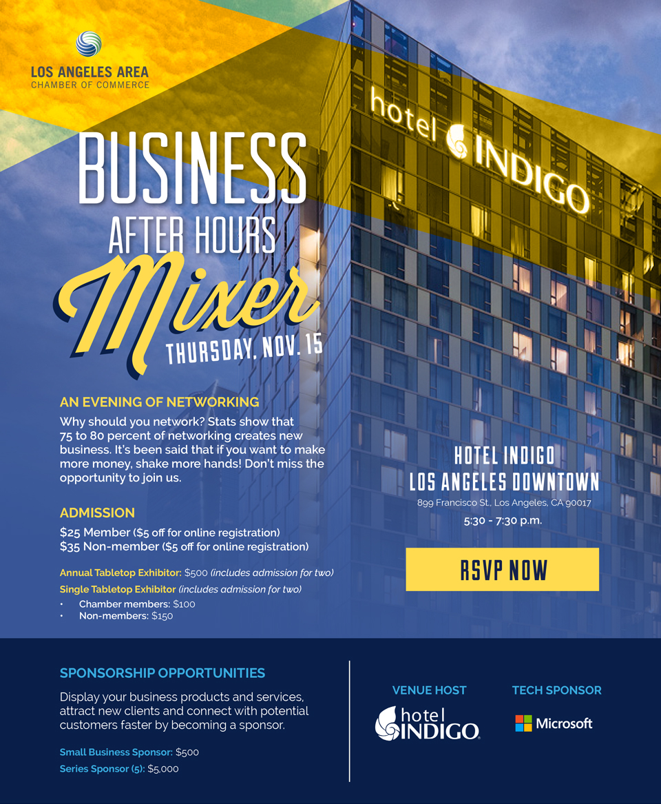 Youth Business Mixer ~ Los angeles area chamber of commerce business after