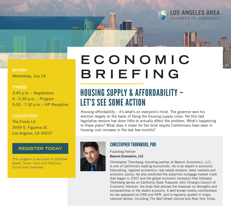 Los Angeles Area Chamber of Commerce - Housing Supply